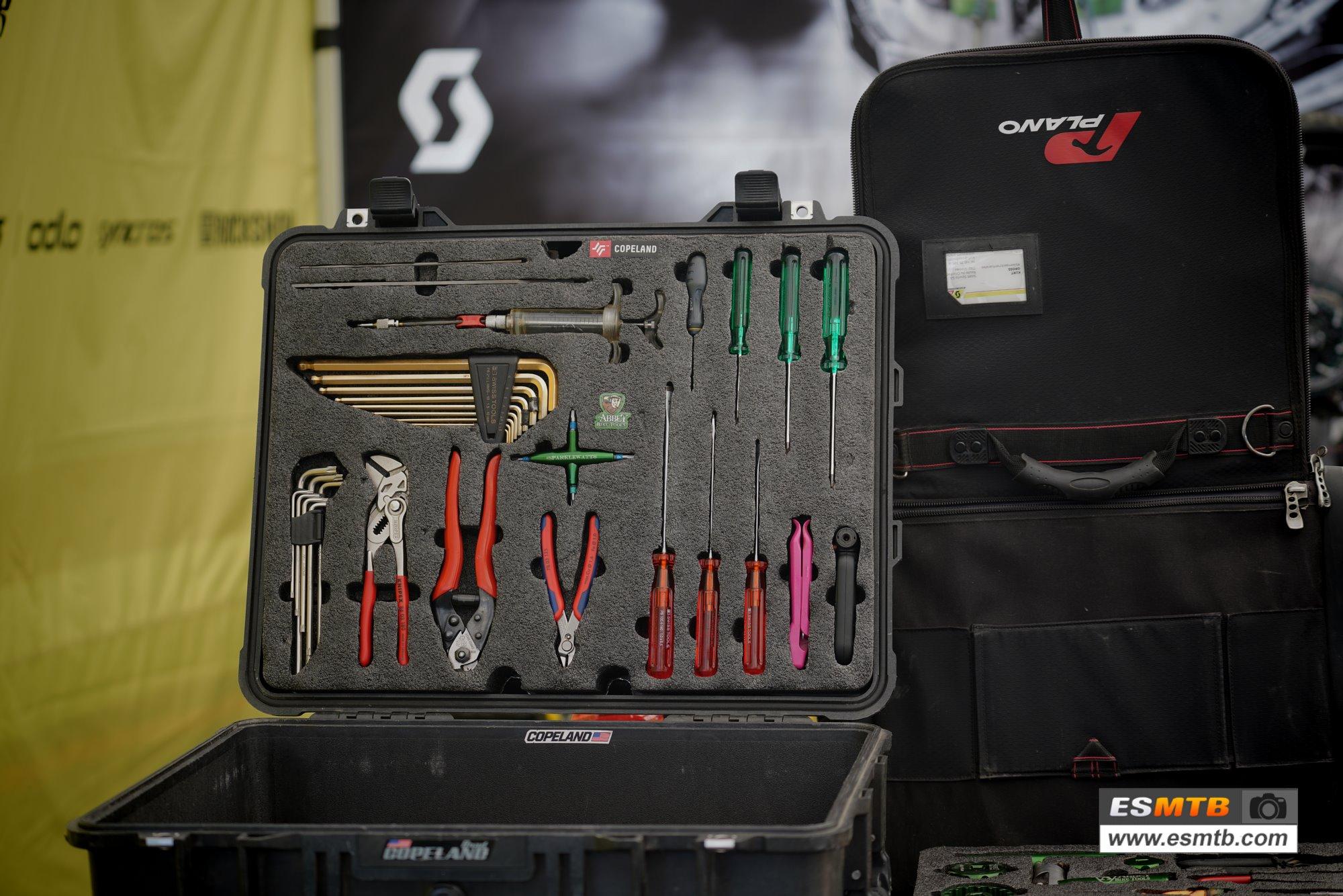 Parte de la caja de herramientas de Copeland