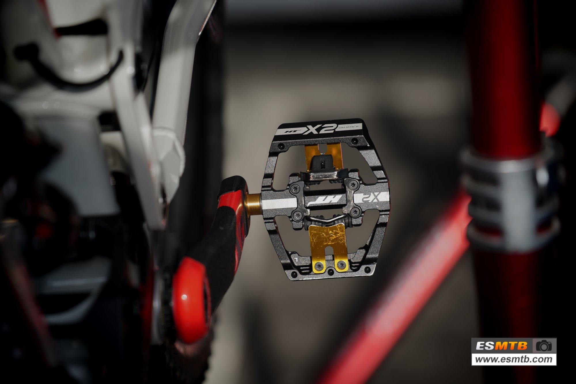Los pedales HT X2
