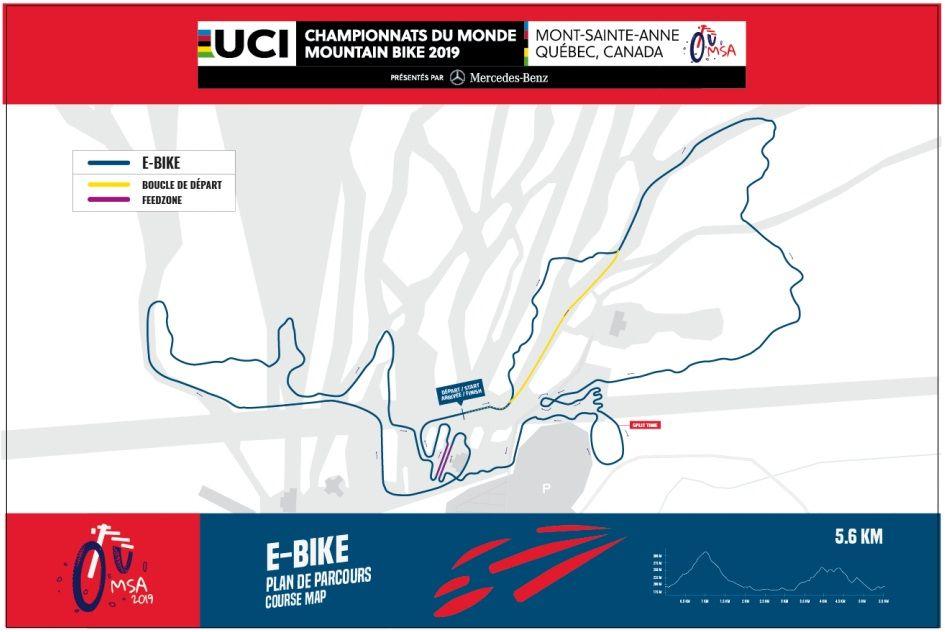 Circuito de Mont-Sainte-Anner para E-MTB