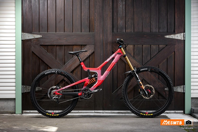 Santa Cruz V10 de Luca Shaw