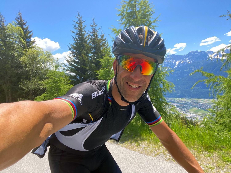 Alban Lakata en su +10.000m