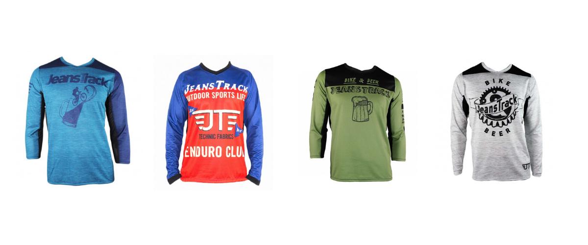 Diversión y bici, el mensaje que JeansTrack quiere transmitirnos con sus camisetas