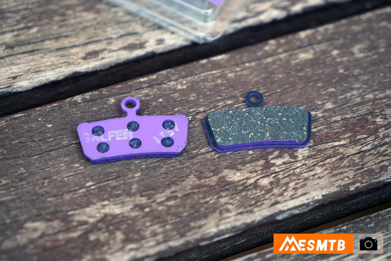 Pastillas de freno específicas para las e-bikes G1652