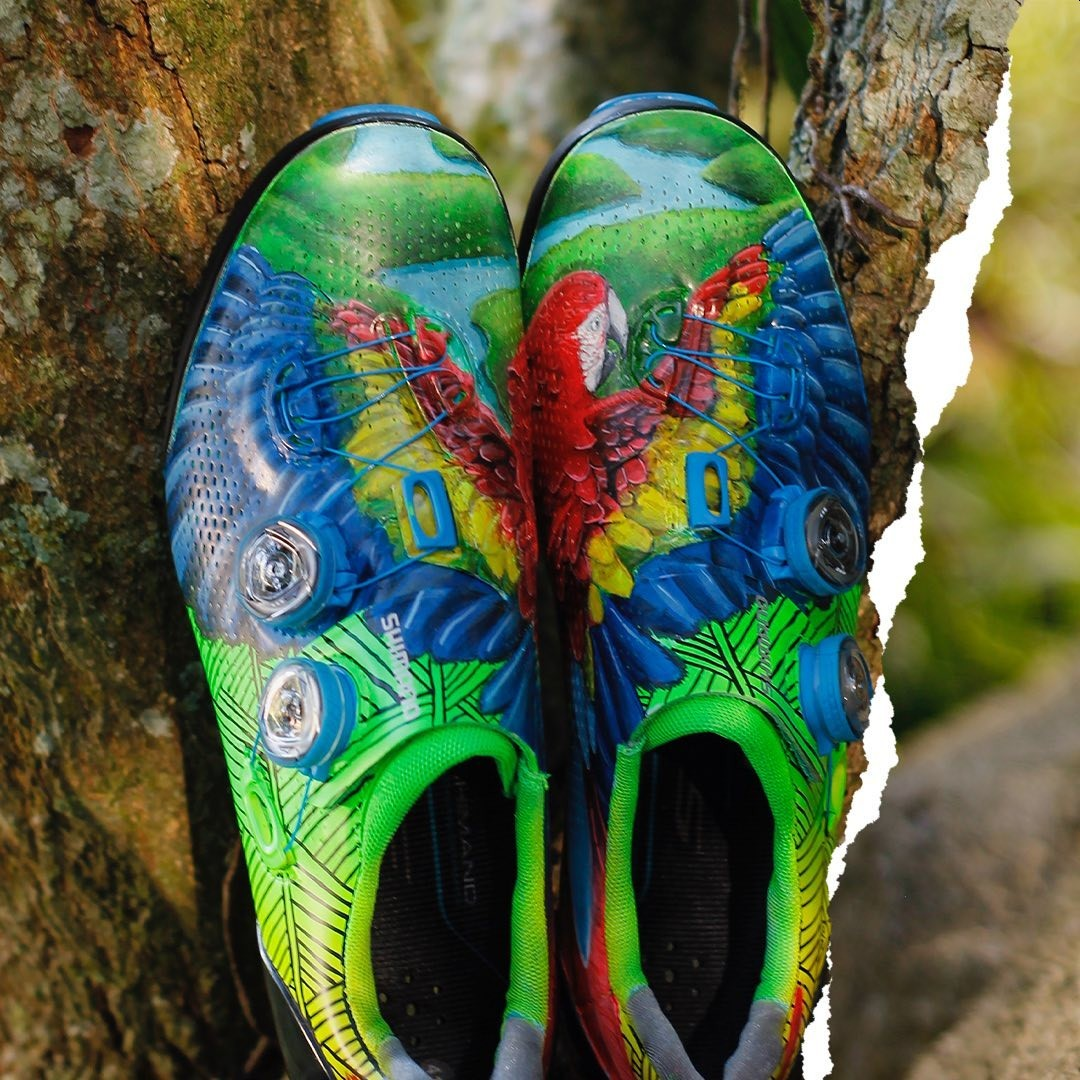 Zapatillas Shimano S-Phyre XC9 personalizadas