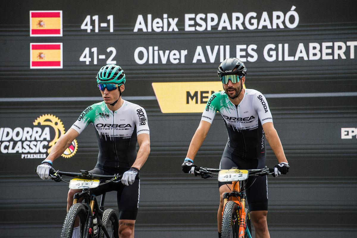 Aleix Espargaró y Oliver Avilés