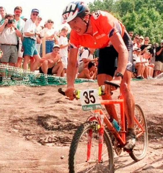 Bart Brentjens en 1996