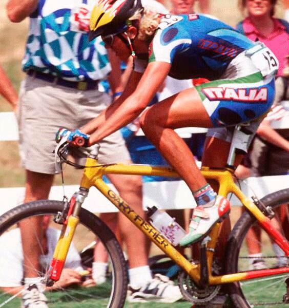 Paola Pezzo en 1996