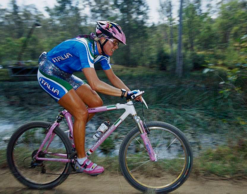 Paola Pezzo en 2000